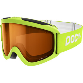 POC POCito Iris Goggles Barn fluorescent yellow/green